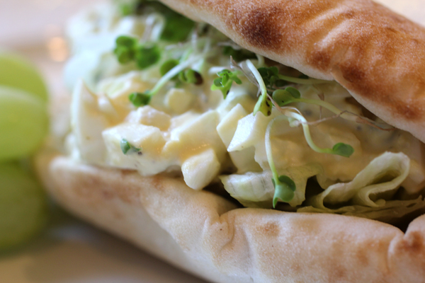 Egg Salad with Bradford Rind Pickles