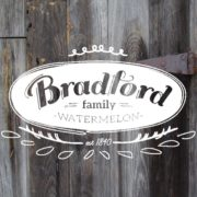 Bradford Watermelons in Charleston!