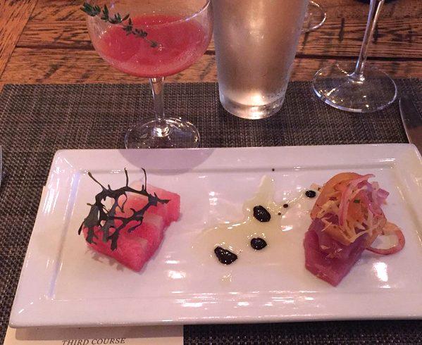 Bradford Watermelon with Tuna